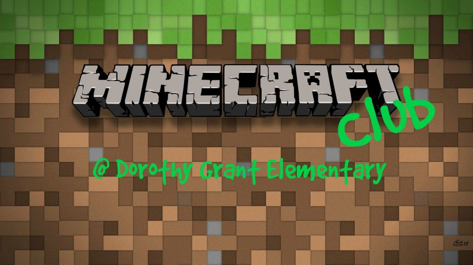 Minecraft Club Header